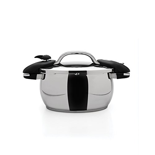 Berghoff Zeno 10'' Pressure Cooker 6.3Qt, Silver