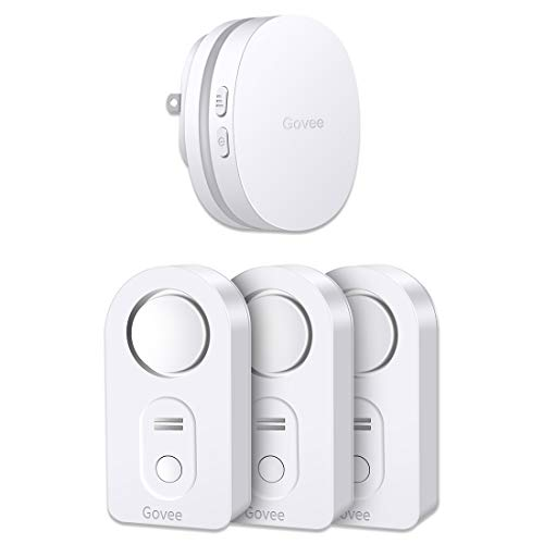 Govee WiFi Water Leak Detector, Smart APP Leak Alert, Wireless Water Sensor and Alarm with Email, Notification, App Alerts, Remote Monitor Leak for Home Security Basement(3 Packs)(Not Support 5G WiFi)