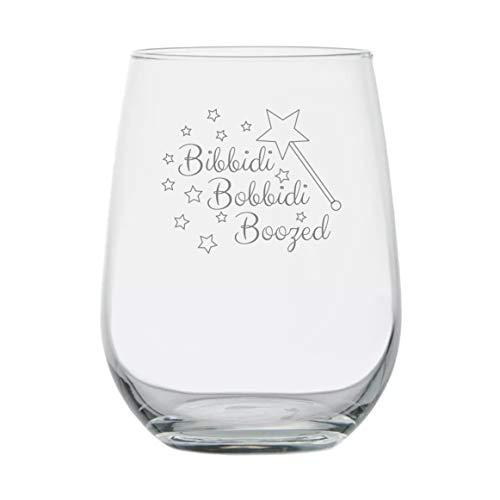 d2255d7ccc2 Bibbidi Bobbidi Boozed ¡ï Disney Princess Wine Glass ¡ï Disney Gifts ¡ï  Funny