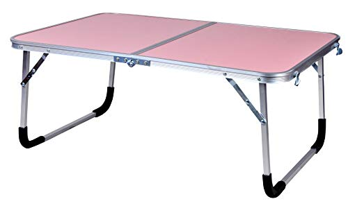 Mantra Laptop Table Portable Laptop/Study Table Outdoor Table Pink (Extra Large) 73