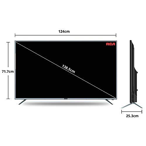 RCA 140 cm (55 inch) 4K Ultra HD Smart LED TV 55WR1904U (Silver) (2019 Model) | with Quantum Backlit Technology 8