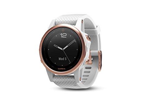 Garmin fēnix 5s, Premium and Rugged Smaller-Sized Multisport GPS Smartwatch,