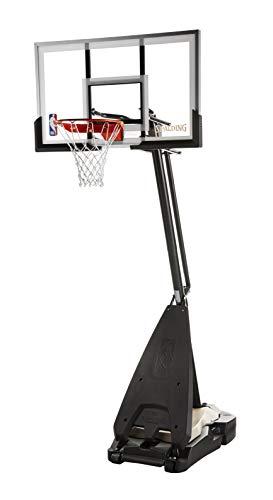 Spalding NBA Hybrid Portable Basketball System 54 Inch Acrylic...
