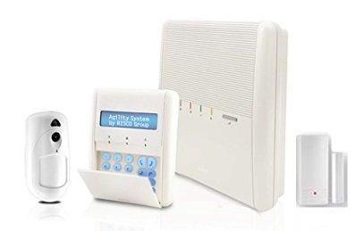 RISCO AGILITY RW132A232AOC KIT 3 ALARME GSM COMPLÈTE RADIO