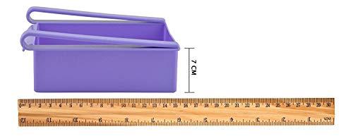 31cKXT c%2BbL UNIQUESTOREE Fridge Organizer Set Space Saver Slide Storage Racks Shelf Drawer Refrigerator Parts & Accessories (Set of 4, Multicolour)