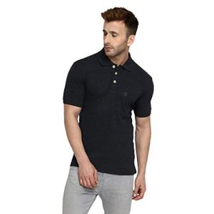CHKOKKO Men's Half Sleeves Plain Polo Collar Cotton T-Shirts with Pocket 25  CHKOKKO Men's Half Sleeves Plain Polo Collar Cotton T-Shirts with Pocket 31cN 2B2WtKxL
