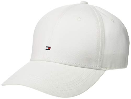 Tommy Jeans Men's Classic BB Dad Hat, White, OS