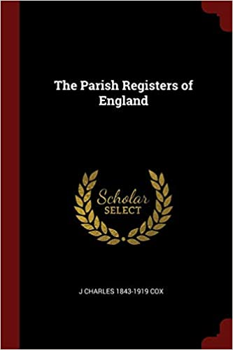 The Parish Registers of England (Paperback)