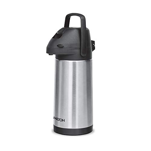 Milton Pinnacle 3000 Thermosteel 24 Hours Hot or Cold Dispenser, 3060 ml, Silver