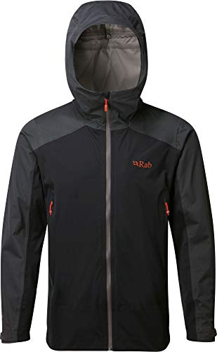 RAB Kinetic Alpine Jacket - Men's Beluga Large