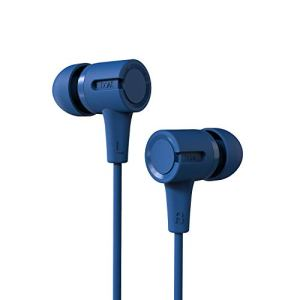boAt BassHeads 102 Wired Earphones with Immersive Audio, Multi-Function Button, in-line Microphone & Perfect Length Cable (Jazzy Blue)
