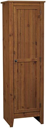 Ameriwood Home Single Door Pantry, Old Fashioned Pine