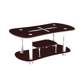 Woodness-Eleanor-Glass-Coffee-Table-Brown