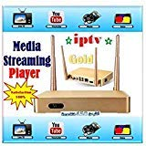 LOOL MODEL 5 ARABIC CHANNELS IPTV ANDROID HDTV BOX, HUNDREDS OF CHANNELS, WITH EXTRA REMOTE CONTROL