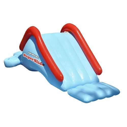 Swimline 90809 SuperSlide Inflatable In Ground Pool Water Slide
