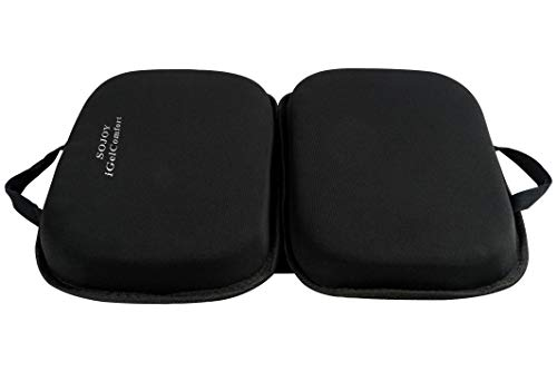 "Sojoy iGelComfort 3 in 1 Foldable Gel Seat Cushion Featured with Memory Foam (A Must-Have Travel Cushion! Smart, Easy Travel Cushion) (Size: 18.5"" x 15' x 2')"