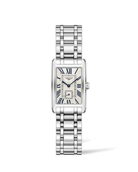 Longines Dolce Vita Silver Dial Stainless Steel Ladies Watch L52554716