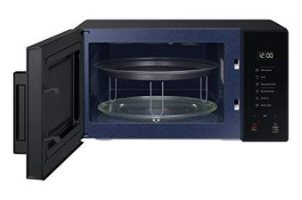 SAMSUNG-23-L-Baker-Series-Microwave-Oven-MG23T5012CKTL-Black-With-Crusty-Plate