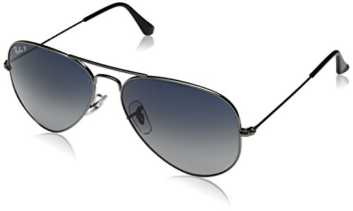 31erKIFls2L Metal sunglasses with wire frame featuring vertical top bar and logo etched on left lens Protective case included, cases come in a variety of colors Ray-Ban sizes refer to the width of one lens in millimeters.