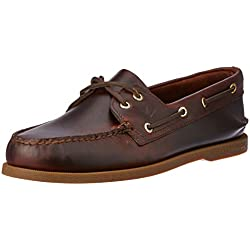 Sperry Men's Authentic Original Boat Shoe,Amaretto,9.5 M US