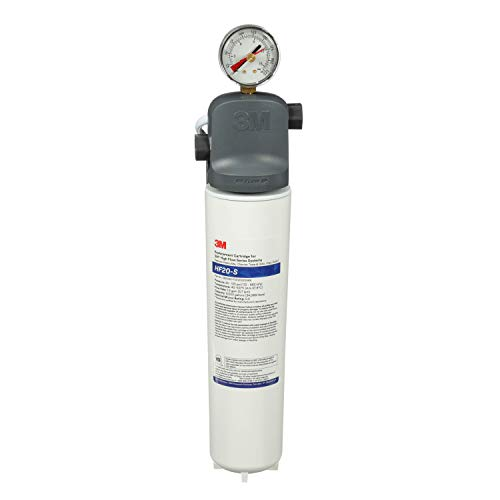 3M-Water-Filtration-Products-System-for-Commercial-Ice-Maker-Machines-ICE120-S-High-Flow-Series-Reduces-Sediment-Chlorine-Taste-and-Odor-Cysts-Inhibits-Scale-15-GPM-9000-Gallon-Capacity