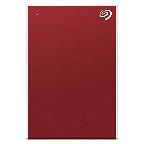 Seagate Backup Plus Slim 2TB External Hard Drive Portable HDD – Red USB 3.0 for PC Laptop and Mac, 1 Year Mylio Create, 2 Months Adobe CC Photography (STHN2000403) 1