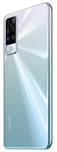 31fPH%2B0MszL Vivo Y51A (Crystal Symphony, 8GB, 128GB Storage) with No Price EMI/Extra Trade Affords