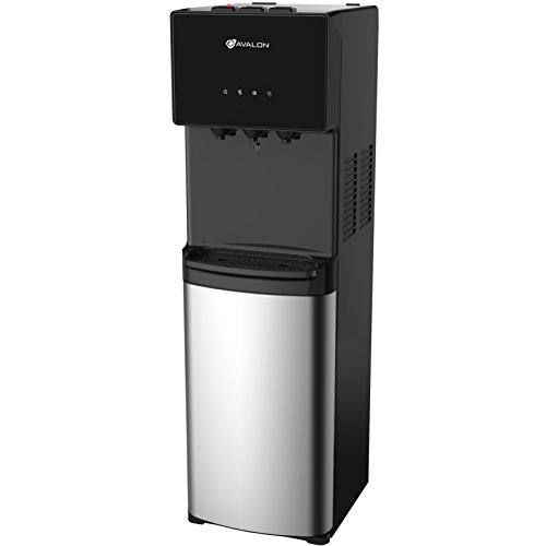 Avalon Bottom Loading Water Cooler Water Dispenser - 3 Temperature Settings - Hot, Cold & Room Water, Durable Stainless Steel Cabinet, Bottom Loading - UL/Energy Star Approved