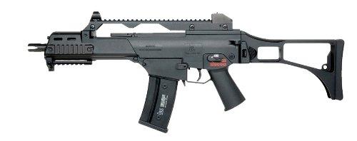 H&K g36c aeg by kwa - blk(Airsoft Gun)