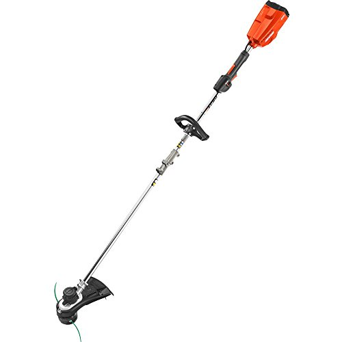 .ECHO. 58-Volt Lithium-Ion Electric Cordless String Trimmer Professional Grade Cordless pair with Brushless Motor Technology-Featuring a Dual Line Bump Feed Head for Quick Reloads