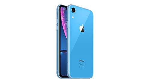 Apple iPhone XR, Fully Unlocked, 128 GB - Blue (Renewed)