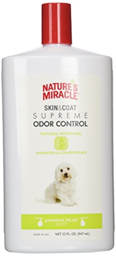 Nature's Miracle Supreme Whitening Odor Control Shampoo, 32 oz