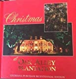 Christmas at Oak Alley Plantation