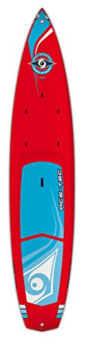 """BIC Sport ACE-TEC Wing Stand Up Paddleboard, Gloss Red/White, 12'6"""""""
