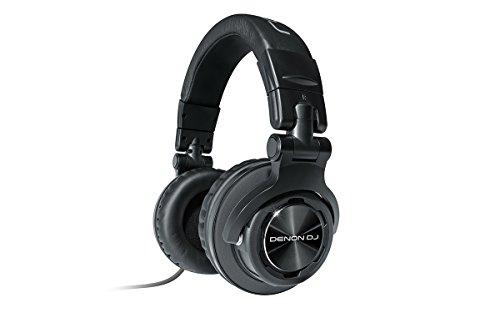 Denon HP1100 Circumaural Diadema Negro Auricular - Auriculares (Circumaural, Diadema, 5000-33000 Hz,...