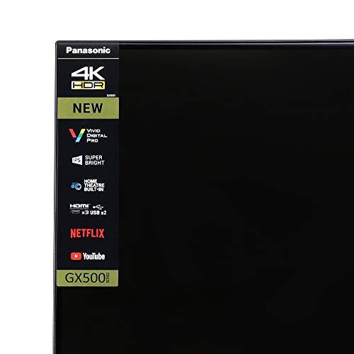 Panasonic 108 cm (43 inches) 4K Ultra HD LED Smart TV TH-43GX500DX (Black) (2019 Model) 5