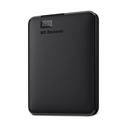 Western Digital 1TB Elements Portable External Hard Drive - USB 3.0 - WDBUZG0010BBK-WESN