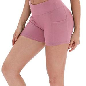icyzone Workout Running Shorts for Women - Yoga Exercise Athletic Shorts Capris 12 Fashion Online Shop Gifts for her Gifts for him womens full figure