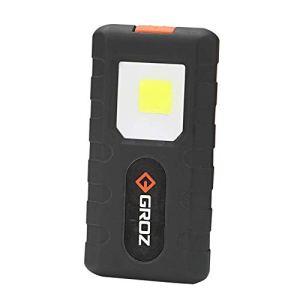 Groz Portable Pocket-Sized COB LED Flashlight...