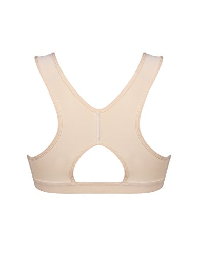 73d749252f Kimikal Women Post-Surgery Front Closure Sports Bra – Dealmerx