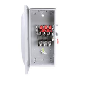 SIEMENS-GF323NR-100-Amp-3-Pole-240-Volt-4-Wire-Fused-General-Duty-Outdoor-Rated