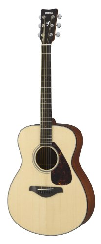Yamaha FS700S Small Body Solid Top Acoustic Guitar, Natural