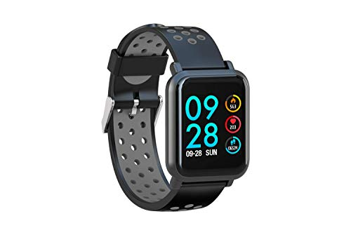 AQFIT Multifunction Smart Watch W8 (Gray Black)