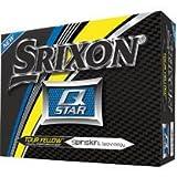 Srixon Q-Star 4 Golf Balls 2017 1 Dozen Yellow