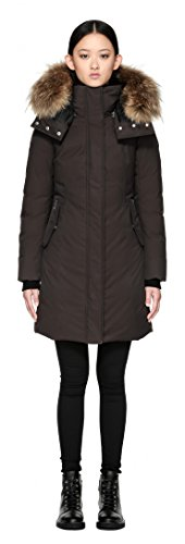 61Kn38DoLeL Weather Rating: -30°C Removable Natural Asiatic Raccoon Fur Hood Trim Water Repellent Fabric