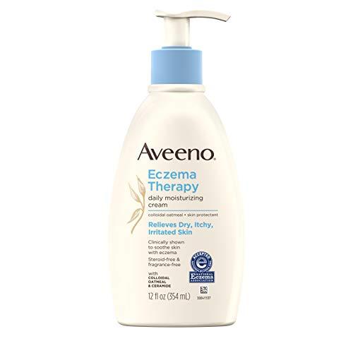 Aveeno Eczema Therapy Daily Moisturizing Cream for Sensitive Skin,...