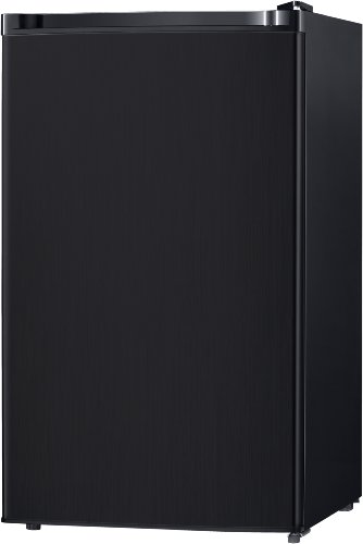Midea WHS-160RB1 Compact Single Reversible Door Refrigerator and Freezer 4.4 Cubic Feet Black