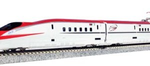 Series E6 Akita Shinkansen [Super Komachi] (Basic 3-Car Set) (Model Train) by Kato 31jonLitg 2BL