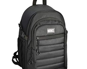 Jealiot Omax Camera Bag (Black) for DSLR Camera All Weather Protection