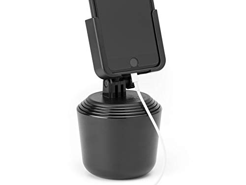 WeatherTech-CupFone-Universal-Cup-Holder-for-Car-Phone-Mount-Automobile-Cradle-Compatible-with-iPhone-and-Cell-Phones